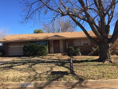 Weatherford Single Family Home For Sale: 524 N 2nd Street