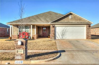 Moore Single Family Home For Sale: 3509 95th