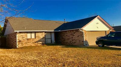 Midwest City Single Family Home For Sale: 124 Oak Tree Lane