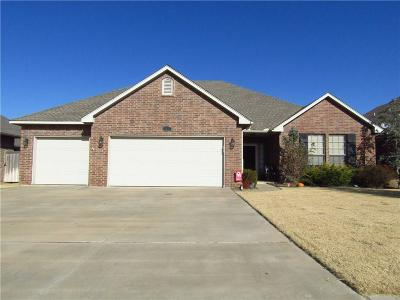Lincoln County, Oklahoma County Single Family Home For Sale: 1417 Switchgrass Road