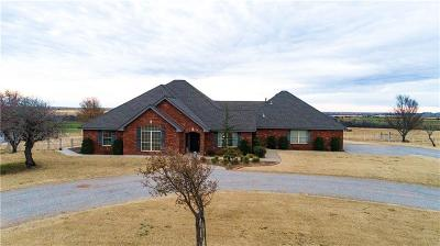 Weatherford Single Family Home For Sale: 10108 N 2440 Road