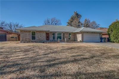 Oklahoma City Single Family Home For Sale: 8721 Salsbury Lane