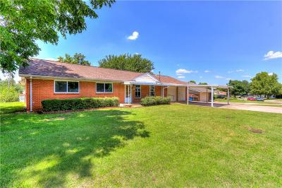 Midwest City OK Single Family Home Pending: $154,900