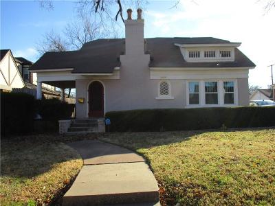 Oklahoma City Single Family Home For Sale: 2044 NW 21st