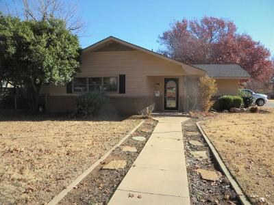 Chickasha OK Single Family Home For Sale: $129,900