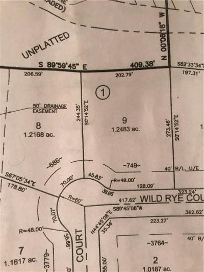 Blanchard Residential Lots & Land For Sale: 749 Wild Rye Ct