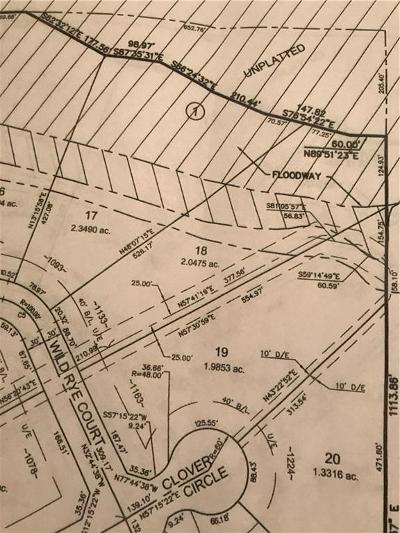 Blanchard Residential Lots & Land For Sale: 1133 Wild Rye Ct