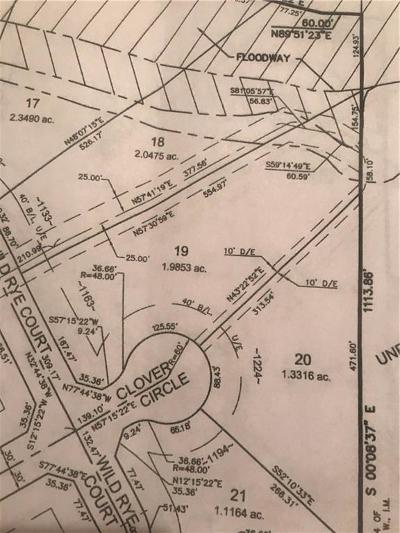 Blanchard Residential Lots & Land For Sale: 1163 Wild Rye Ct