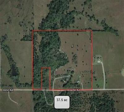 Lincoln County Residential Lots & Land For Sale: E 850 Road