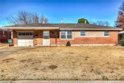 Del City OK Single Family Home For Sale: $79,900
