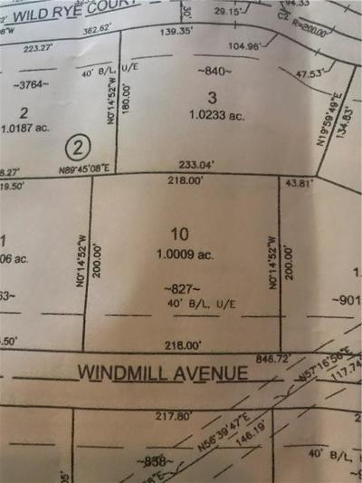 Blanchard Residential Lots & Land For Sale: 827 Windmill Ave