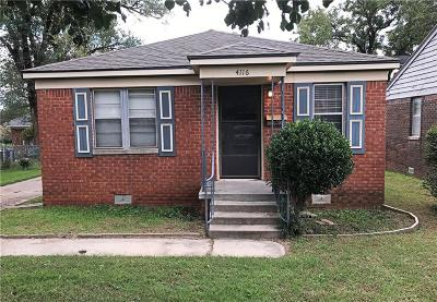 Oklahoma City Single Family Home For Sale: 4116 NW 15th Street