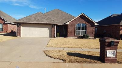 Moore Single Family Home For Sale: 3100 Loren Drive