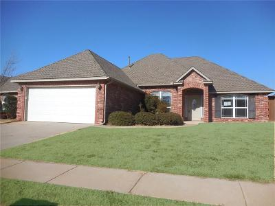 Canadian County, Oklahoma County Single Family Home For Sale: 1201 NW 190th Street