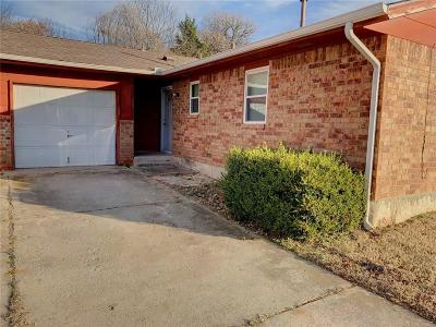 Midwest City Single Family Home For Sale: 516 E Cardinal Place