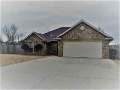 Chickasha OK Single Family Home For Sale: $146,000