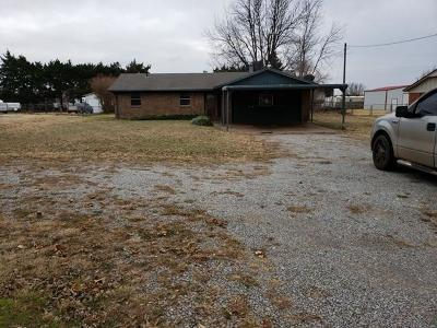 Chickasha OK Single Family Home For Sale: $67,900