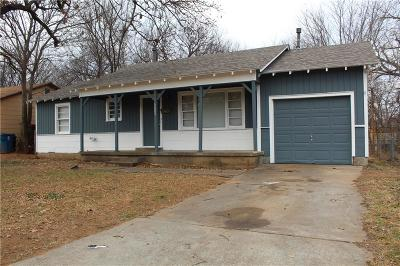 Midwest City Single Family Home For Sale: 3609 Woodside