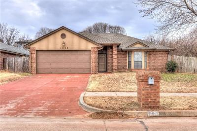 Midwest City Single Family Home For Sale: 1808 Dorchester Road
