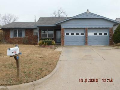 Spencer Single Family Home For Sale: 3413 Paradise Drive