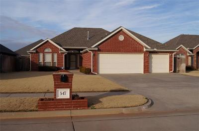Mustang Single Family Home For Sale: 547 W Pawnee Court