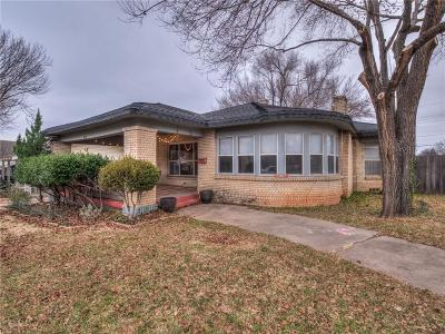 Oklahoma City Single Family Home For Sale: 601 NW 34th Street
