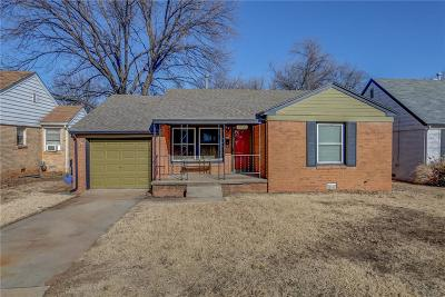 Oklahoma City Single Family Home For Sale: 2821 NW 35th Street