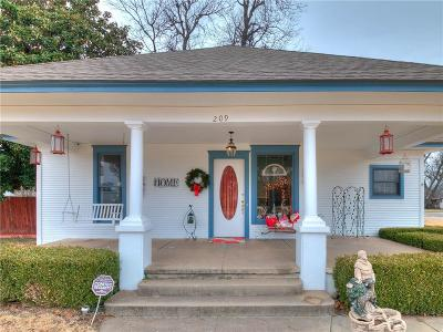 Jones Single Family Home For Sale: 209 N State Street