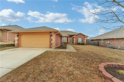 Midwest City Single Family Home For Sale: 10809 Turtlewood Drive
