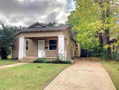 Oklahoma City OK Single Family Home For Sale: $79,000