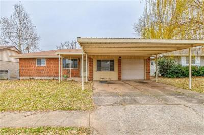 Oklahoma City Single Family Home For Sale: 2612 W Fairview Drive
