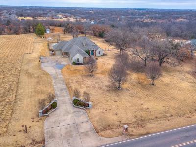 Single Family Home For Sale: 4120 S Choctaw Road