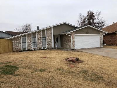 Oklahoma County Rental For Rent: 8341 110th