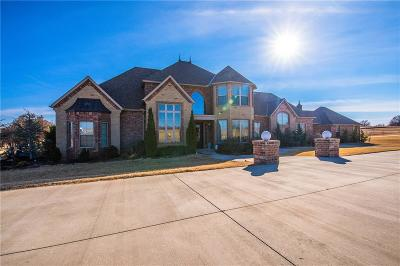 Blanchard OK Single Family Home For Sale: $589,000
