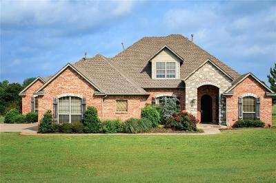 Blanchard OK Single Family Home For Sale: $438,700
