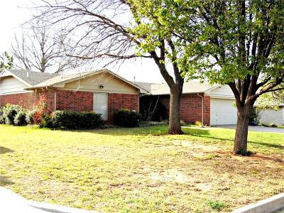 Chickasha OK Single Family Home For Sale: $130,000