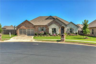 Edmond Single Family Home For Sale: 5725 Falkland Terrace