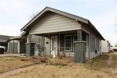 Elk City Single Family Home For Sale: 1101 W A Ave