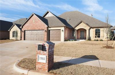 Edmond Single Family Home For Sale: 17613 Braken Drive