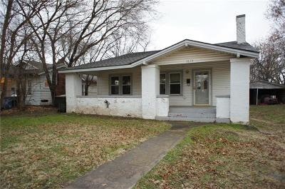 Chickasha OK Single Family Home For Sale: $22,900