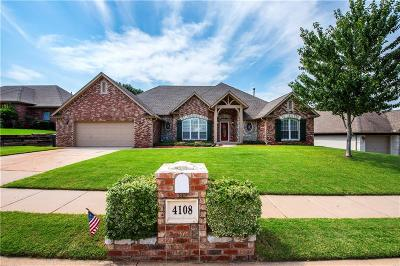 Edmond Single Family Home For Sale: 4108 Bristol Lane