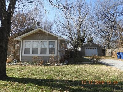 Chickasha OK Single Family Home For Sale: $70,000
