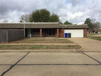 Norman Single Family Home For Sale: 3802 Quail Run Cir