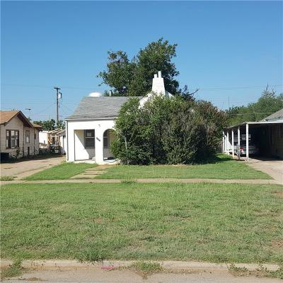 Single Family Home For Sale: 1107 N Lee