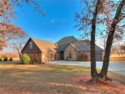 Blanchard OK Single Family Home For Sale: $299,900