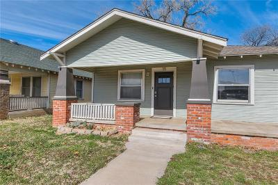 Oklahoma City OK Single Family Home For Sale: $158,000