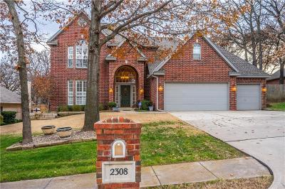 Edmond Single Family Home For Sale: 2308 Foxwood Circle