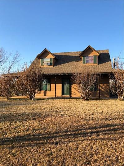 Blanchard OK Single Family Home For Sale: $119,000