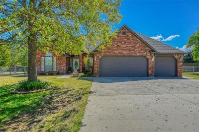 Blanchard OK Single Family Home For Sale: $269,900