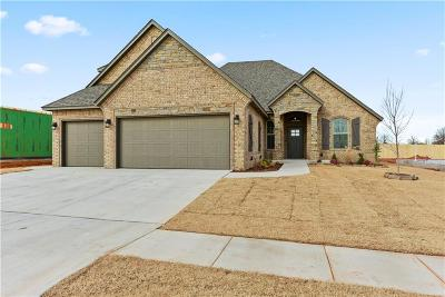 Mustang Single Family Home For Sale: 5521 Ledgestone Drive